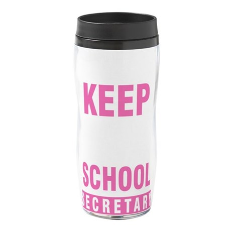 Fuck Breast Cancer Thermos Bottle (12oz)