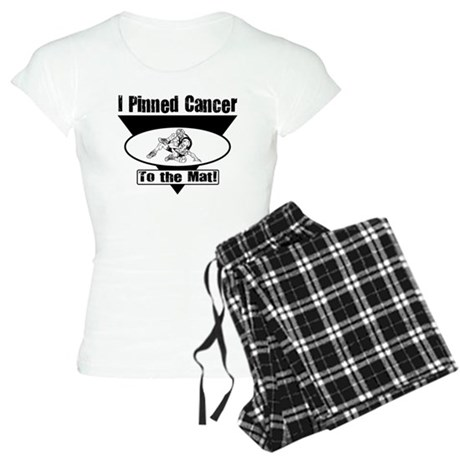 I Pinned Cancer Women's Light Pajamas