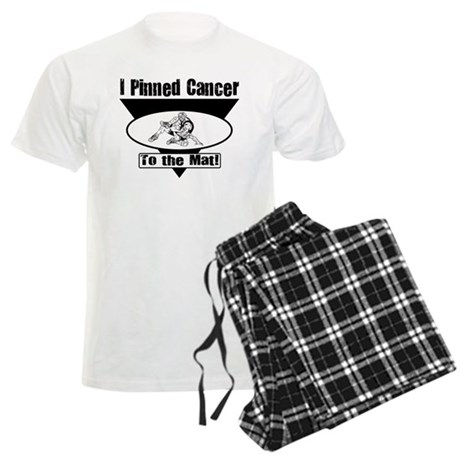 I Pinned Cancer Men's Light Pajamas