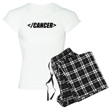 Geeky End Cancer Women's Light Pajamas