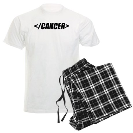 Geeky End Cancer Men's Light Pajamas