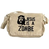 Jesus is a Zombie Messenger Bag