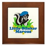 Little Stinker Marcus Framed Tile