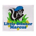 Little Stinker Marcus Throw Blanket