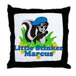 Little Stinker Marcus Throw Pillow