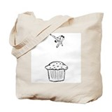 Muffin Diver Tote Bag