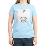 Muffin Diver Women's Pink T-Shirt