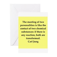 Carl Jung quotes Greeting Cards (Pk of 20)