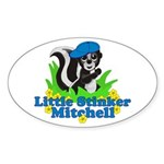 Little Stinker Mitchell Sticker (Oval 10 pk)