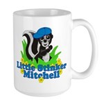 Little Stinker Mitchell Large Mug
