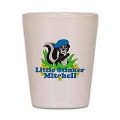 Little Stinker Mitchell Shot Glass