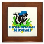 Little Stinker Mitchell Framed Tile
