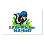 Little Stinker Mitchell Sticker (Rectangle 10 pk)