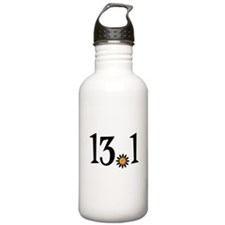13.1 with orange flower Water Bottle