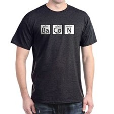 Bacon elements t shirt