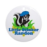 Little Stinker Randon Ornament (Round)