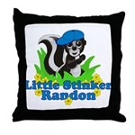 Little Stinker Randon Throw Pillow