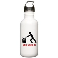 Kill Your Television Sports Water Bottle