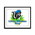 Little Stinker Ray Framed Panel Print