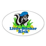 Little Stinker Rick Sticker (Oval 10 pk)