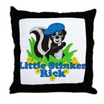 Little Stinker Rick Throw Pillow