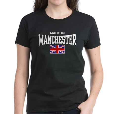 Made In Manchester Women's Dark T-Shirt