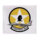 VF-202 Superheats Throw Blanket