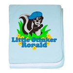 Little Stinker Ronald baby blanket