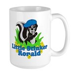 Little Stinker Ronald Large Mug