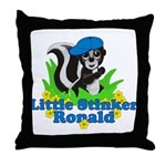 Little Stinker Ronald Throw Pillow