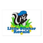 Little Stinker Ronald Postcards (Package of 8)