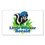 Little Stinker Ronald Sticker (Rectangle 10 pk)