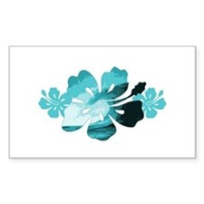 Hibiscus Surf - Decal