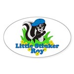 Little Stinker Roy Sticker (Oval)
