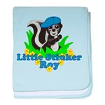 Little Stinker Roy baby blanket