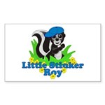 Little Stinker Roy Sticker (Rectangle 10 pk)