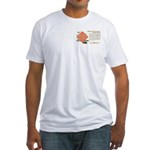 Railway Express Agency 1948 Fitted T-Shirt