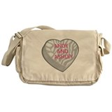ANDY AND ASHLEY Canvas Messenger Bag