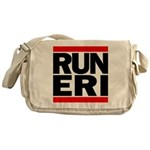 RUN ERI Canvas Messenger Bag