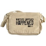 Whatever Happened... Happened Canvas Messenger Bag
