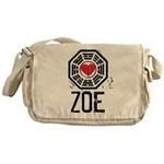 I Heart Zoe - LOST Canvas Messenger Bag