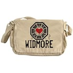 I Heart Widmore - LOST Canvas Messenger Bag