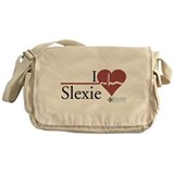 I Heart Slexie - Grey's Anato Canvas Messenger Bag