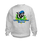 Little Stinker Steve Kids Sweatshirt