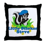 Little Stinker Steve Throw Pillow