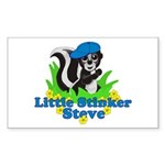 Little Stinker Steve Sticker (Rectangle)