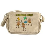 Colorguard Rocks Messenger Bag