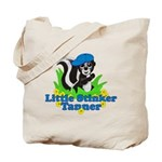 Little Stinker Tanner Tote Bag
