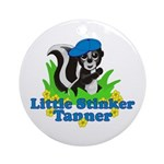 Little Stinker Tanner Ornament (Round)