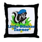 Little Stinker Tanner Throw Pillow